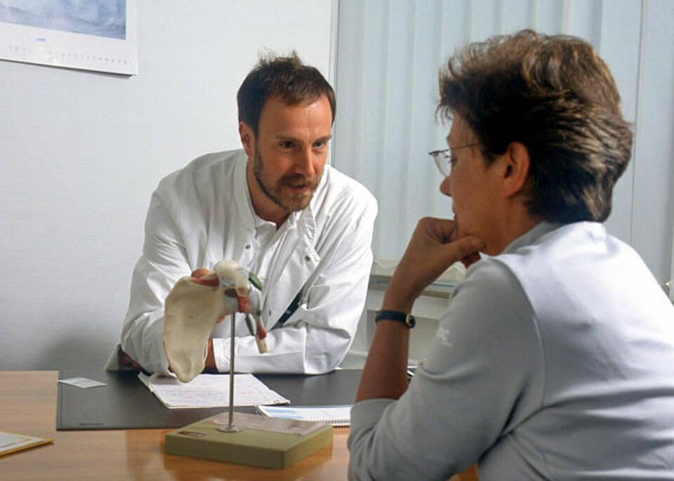 Patientengespräche ab dem ersten Semester