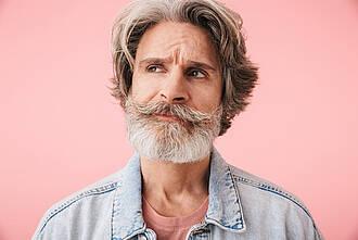 graue haare, ergraut
