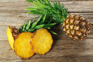 Enzym aus der Ananas wird in der Medizin eingesetztniwird zur V