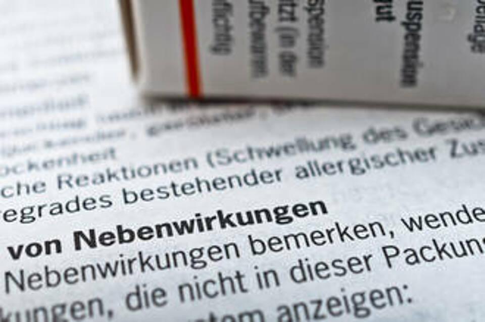 fluorchinolonhaltige Antibiotika, Nebenwirkungen