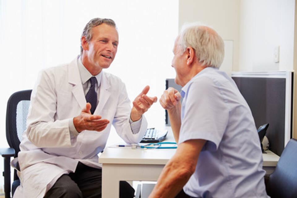 Weniger Einbußen bei der Lebensqualität nach Prostatektomie: Die Chemie zwischen Arzt und Patient muss stimmen.