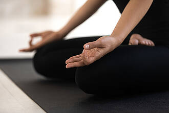 entspannung, yoga, lotussitz, padmasana yoga