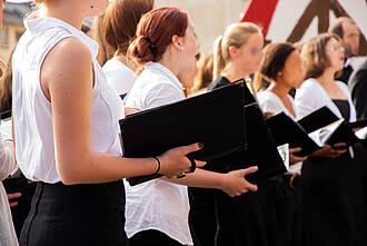 Chor, Chorgesang, Singen, Gesang