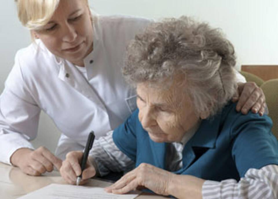 Deutsche schlecht gerüstet für den Pflegefall