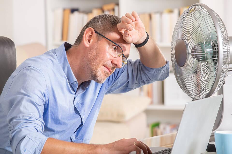 Abkühlung ist an heißen Tagen ebenso wichtig wie viel Trinken