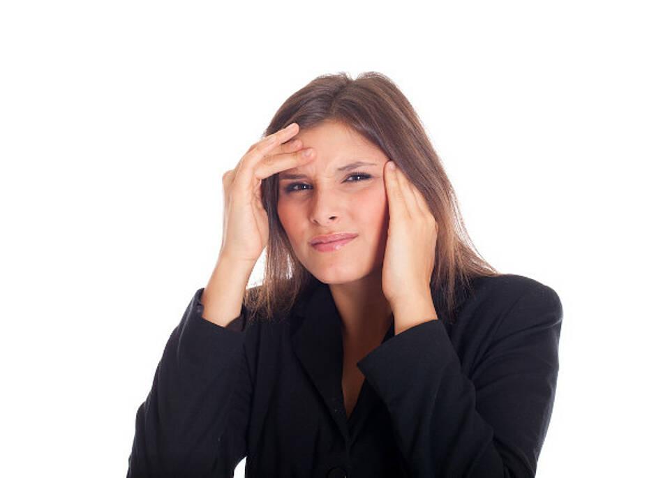 Kopfschmerzen nur selten durch die Augen bedingt