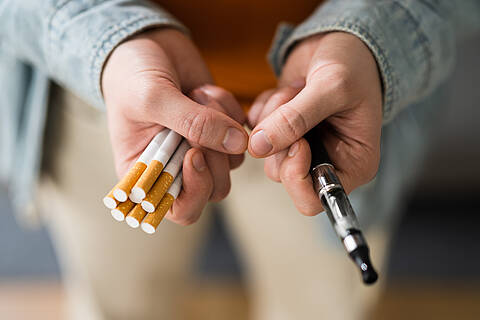 Harm reduction durch weniger schädliche Alternativen zur Zigarette