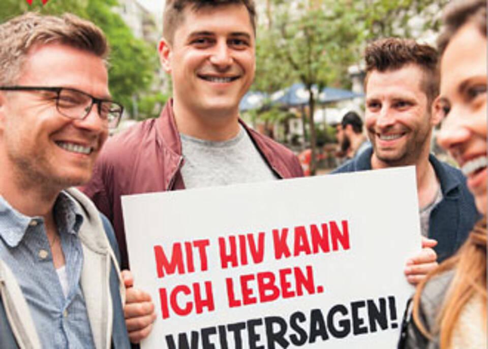 Die neue Kampagne von Deutscher AIDS-Hilfe und AIDS Stiftung: Vorurteilsloses Zusammenleben muss selbstverständlich werden