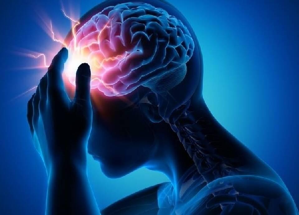 Erregungswelle bei Migräne