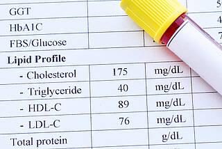 cholesterin, cholesterin-werte, blutfett-werte, HDL-Cholesterin, LDL-Cholesterin