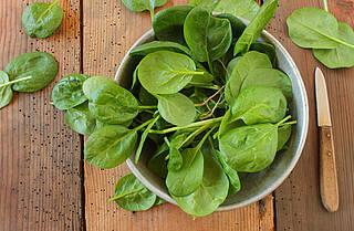 spinat, blattspinat, grünes gemüse