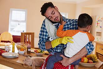 Ständig erreichbar: Auswirkungen auf Familienleben und Partnerschaft