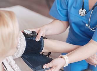 Blutdruck, Bluthochdruck, 2. Messwerte, zweimal messen