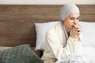 Krebspatientin, krebs, krebstherapie