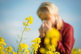 Heuschnupfen in Coronazeiten. Abgrenzung der Symptome nicht immer möglich