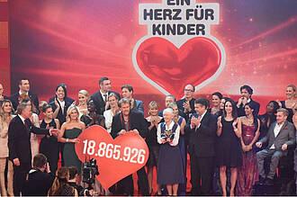 Spendenrekord bei BILD Aktion Ein Herz für Kinder: Auch krebskranke Kinder des INFORM-Projekts profitieren
