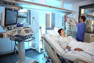 intensivstation, intensivpatient, intensivmedizin