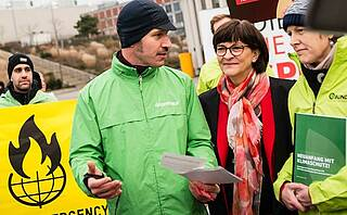 Greenpeace fordert von neuer SPD-Führung Neustart der Klimapolitik