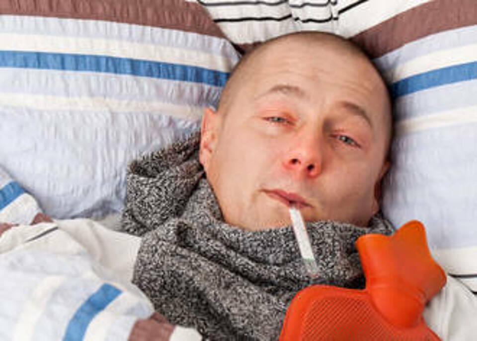 Bislang erst 33 Grippefälle gemeldet: Noch ist keine Rede von einer Grippewelle