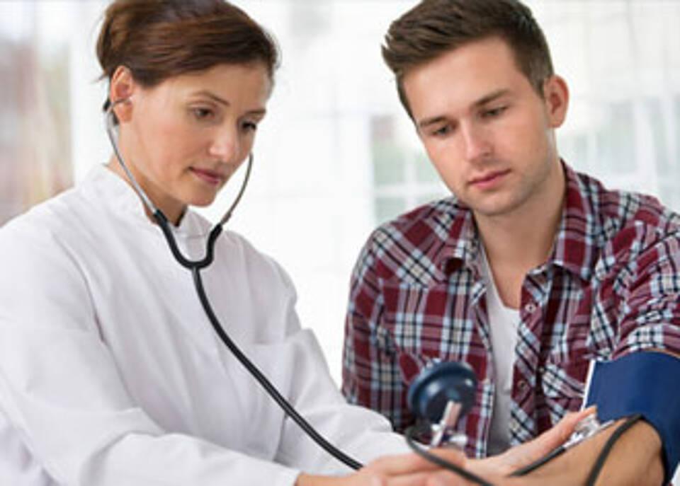 Bei Blutdruck gilt die 30-50-80-Regel