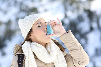 Asthma im Winter