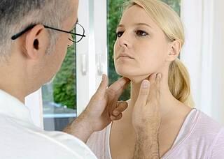 Pfeiffersches Drüsenfieber diagnostizieren