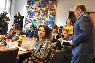 Erstmals Coronavirusinfektion in Berlin nachgewiesen: Gesundheitssenatorin Dilek Kalayci will noch nicht von Katastrophenschutz sprechen. Dafür sei es noch zu früh