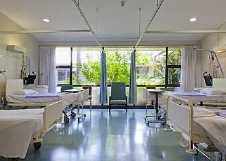 Krankenhauszimmer sollen gemütlicher werden.