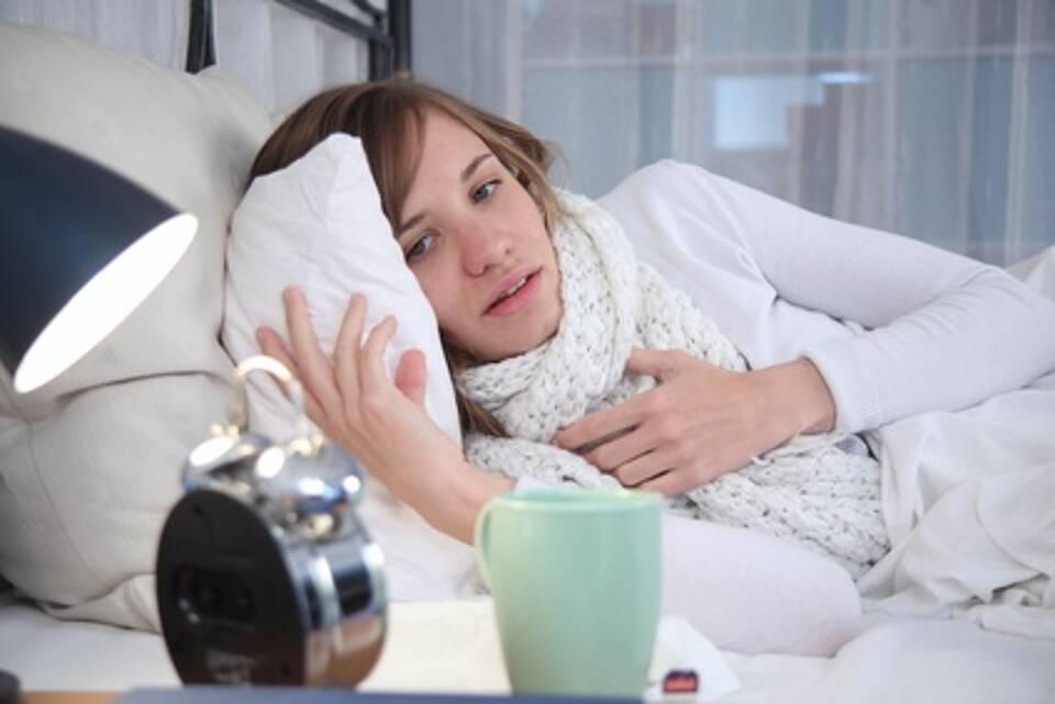 Die Grippe-Welle dauert noch an