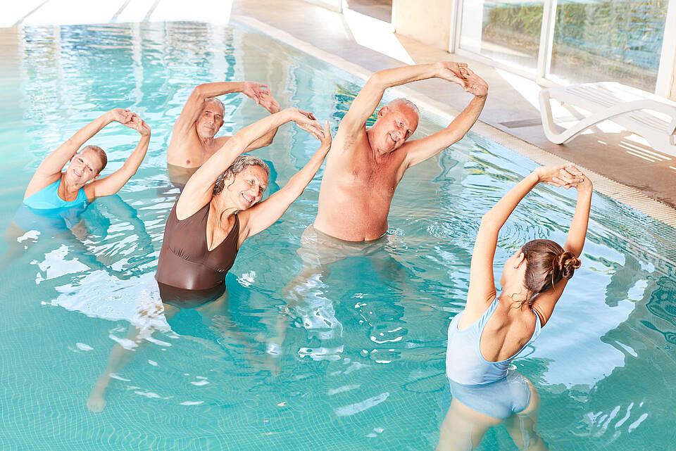 Bewegung ist ein Eckpfeiler in der Therapie der Rheumatoiden Arthritis und der Begleiterkrankung Sarkopenie.