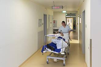 Krankenhausstrukturen Klinikbetten Versorgung