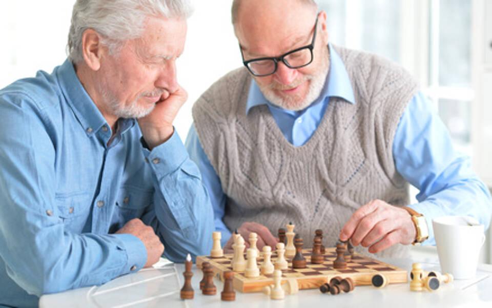 Demenz, kognitive Fähigkeiten, Alter, geistiges Training