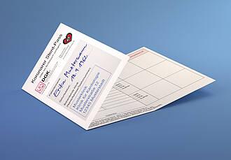 Mit dem Stent-Pass der Herzstiftung lässt sich die Medikation im Auge behalten