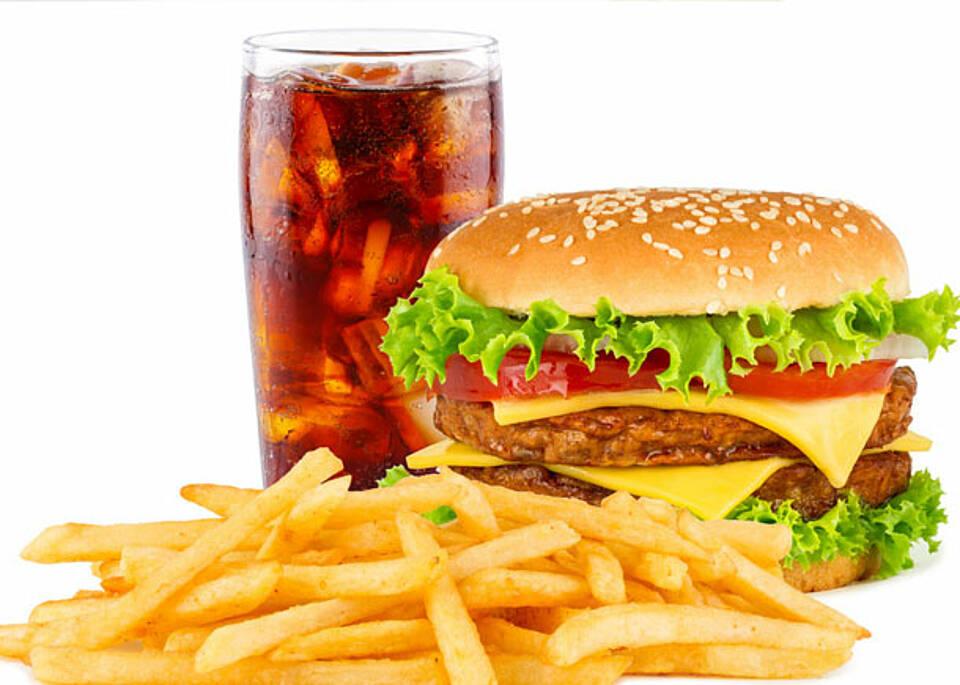 Fast-Food macht Kinder krank