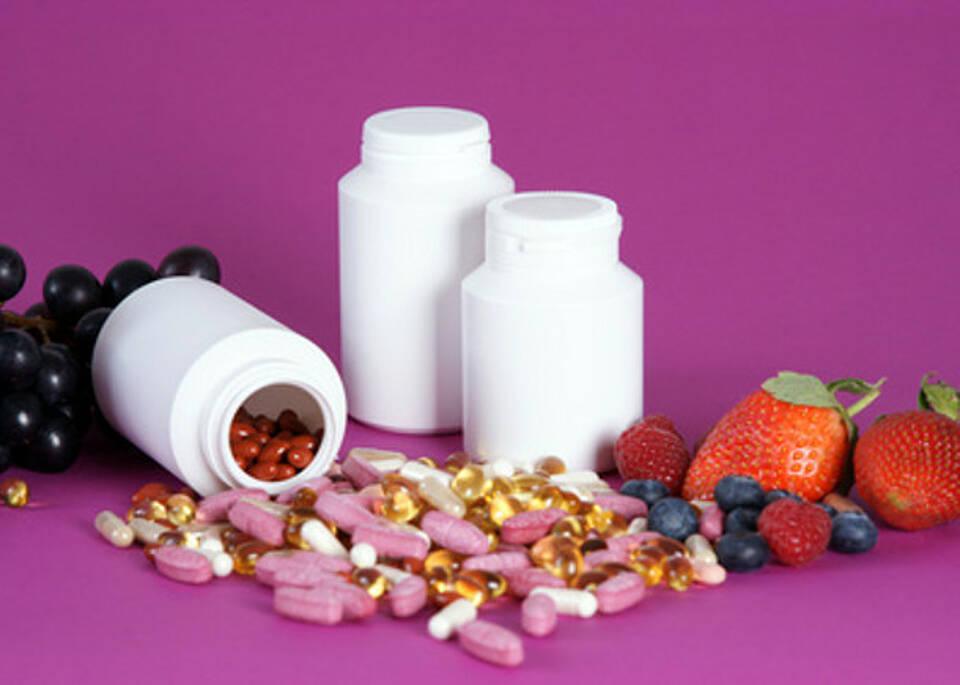 Vorsicht bei Nahrungsergänzungsmitteln