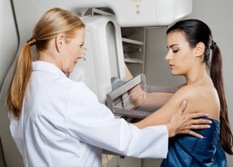 Mammographie-Sreening spürt immer kleinere Tumore auf