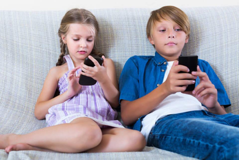 Bereits Kinder sind intensive Nutzer von Laptop, Tablet oder Smartphone