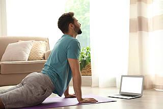 Kleine Bewegungseinheiten lassen sich gut in den Alltag integrieren