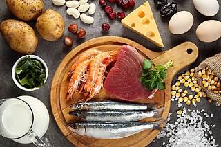 Jodhaltige Lebensmittel: Fischl, Eier, Milch, Käse, Jodsalz