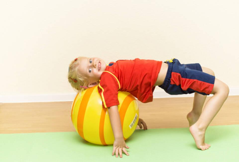 Kinder und Rückenschmerzen