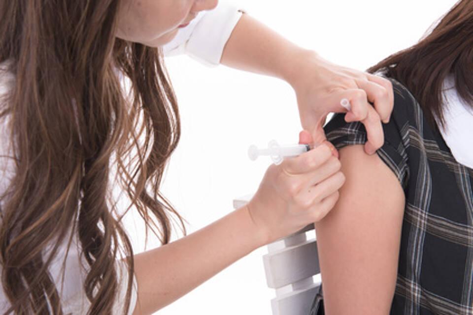 HPV-Impfung, Impfung, junges Mädchen, Schutzimpfung