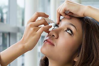 Augen, Tränenflüssigkeit, Coronavirus, Covid-19