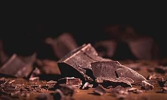 Dunkle Schokolade, schokolade, bitterschokolade