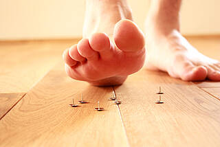 Der diabetische Fuß kann im schlimmsten Fall zur Amputation führen