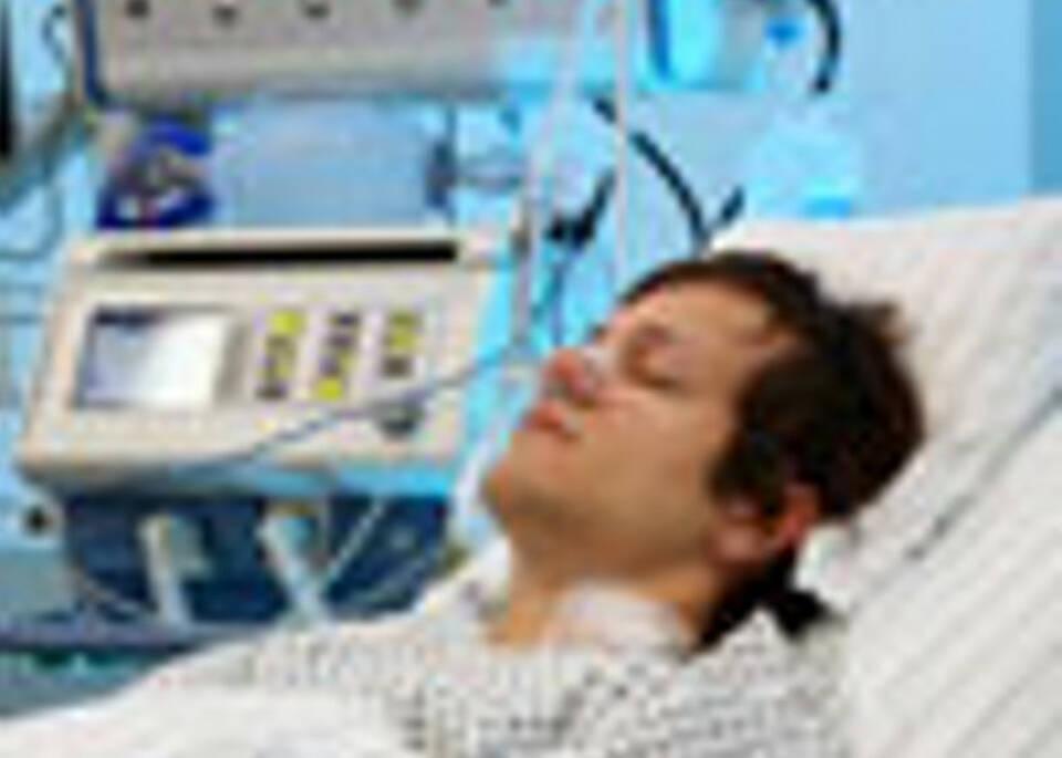 Kürzer im Krankenhaus
