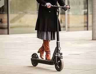 E-Scooter, Verletzungsrisiko, Vekehrssicherheit, Unfälle