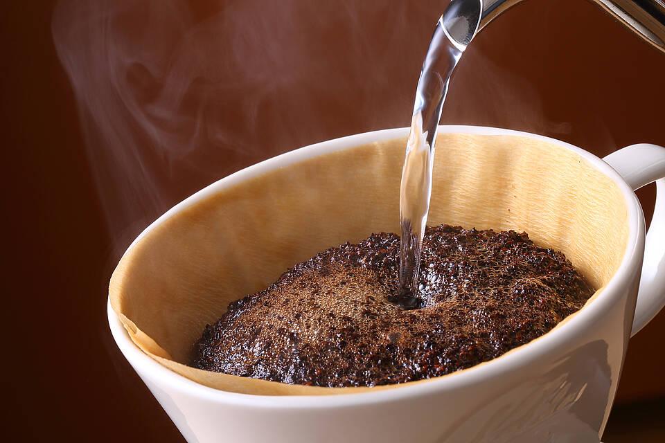 Kaffee, Filterkaffee, Kaffefilter