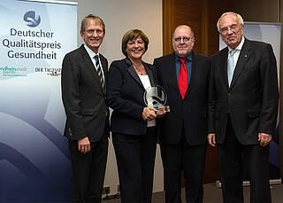 Ulla Schmidt erhält Deutschen Qualitätspreis Gesundheit