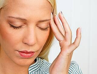 Kopfschmerzen, Migräne, Schmerzen, Frau, Schläfe