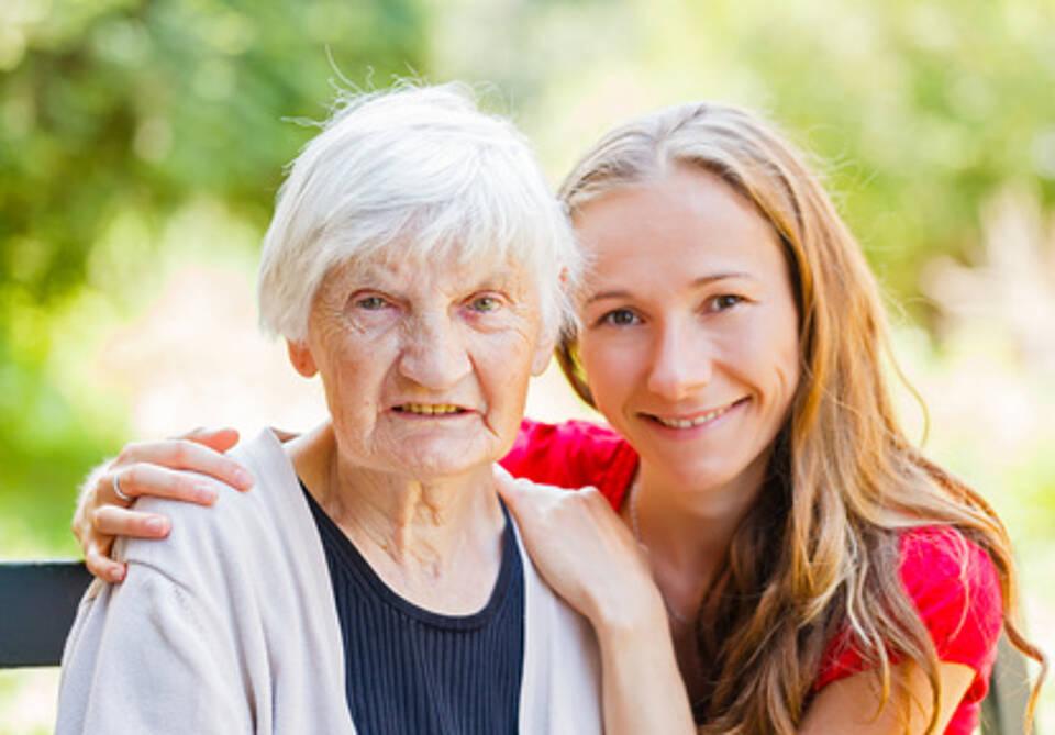 Die Pflege von Demenz-Kranken kostet Kraft